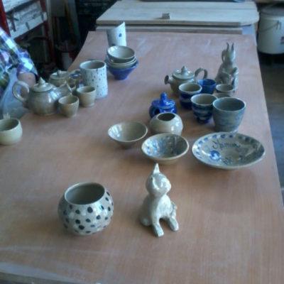 créations cours de poterie
